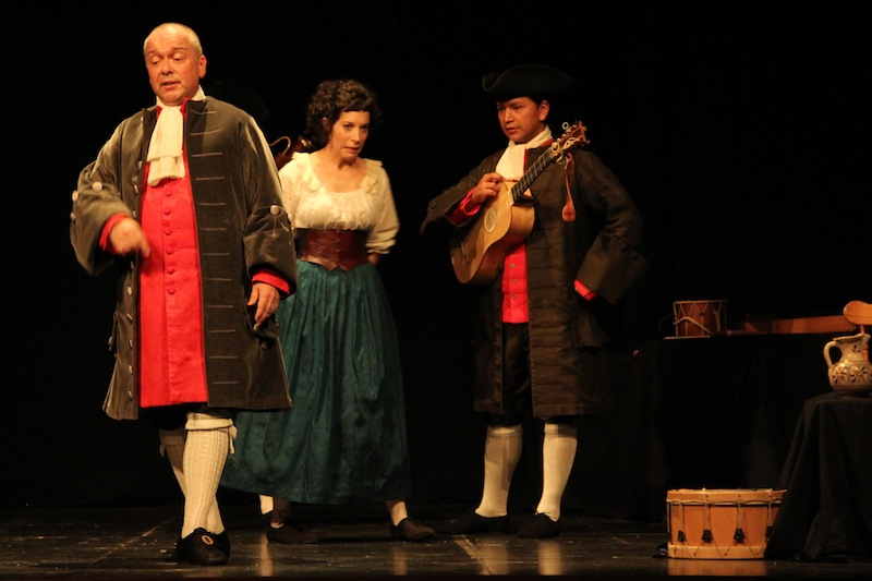 La Chacona y el Rigodón tocan y bailan al mismo son